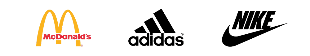 Logo Design   L+P   McDonald's, adidas, Nike