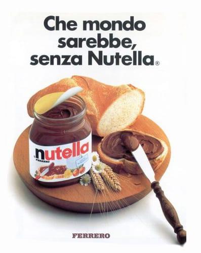 Logo Design   Claim   Nutella - Che mondo sarebbe, senza Nutella.