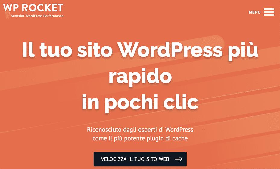 WP Rocket | Cache plugin