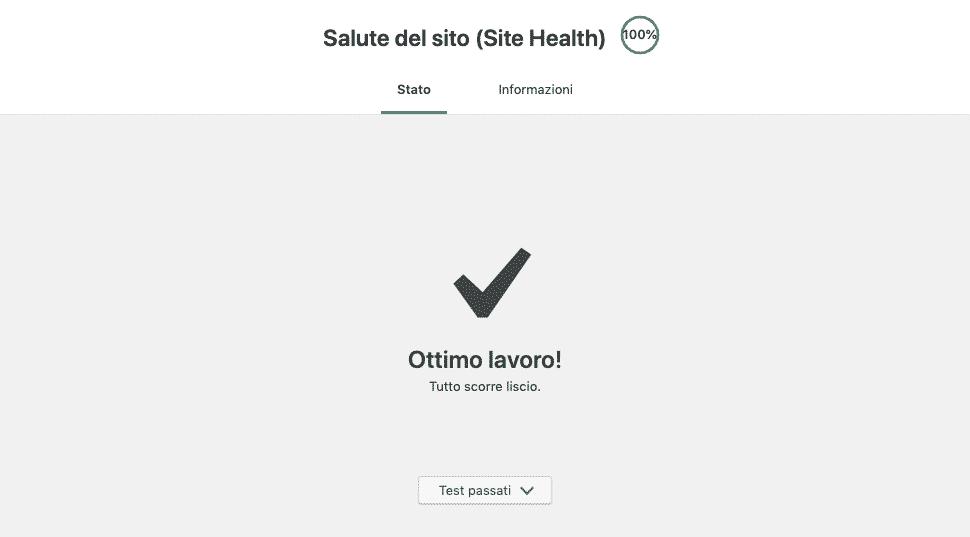 Site Health di WordPress 5.2 | OK