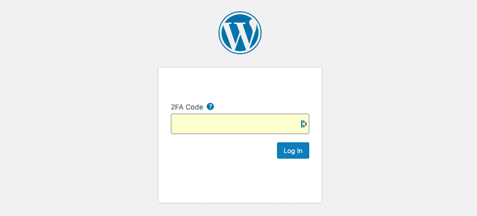 Mettere in sicurezza WordPress. Wordfence | Two-factor Authentication (2FA)