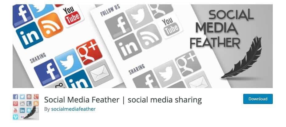 Pulsanti Condivisione Social | Plugin - Social Media Feather