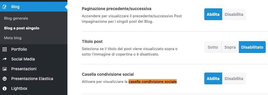Pulsanti Condivisione Social | Temi - Avada