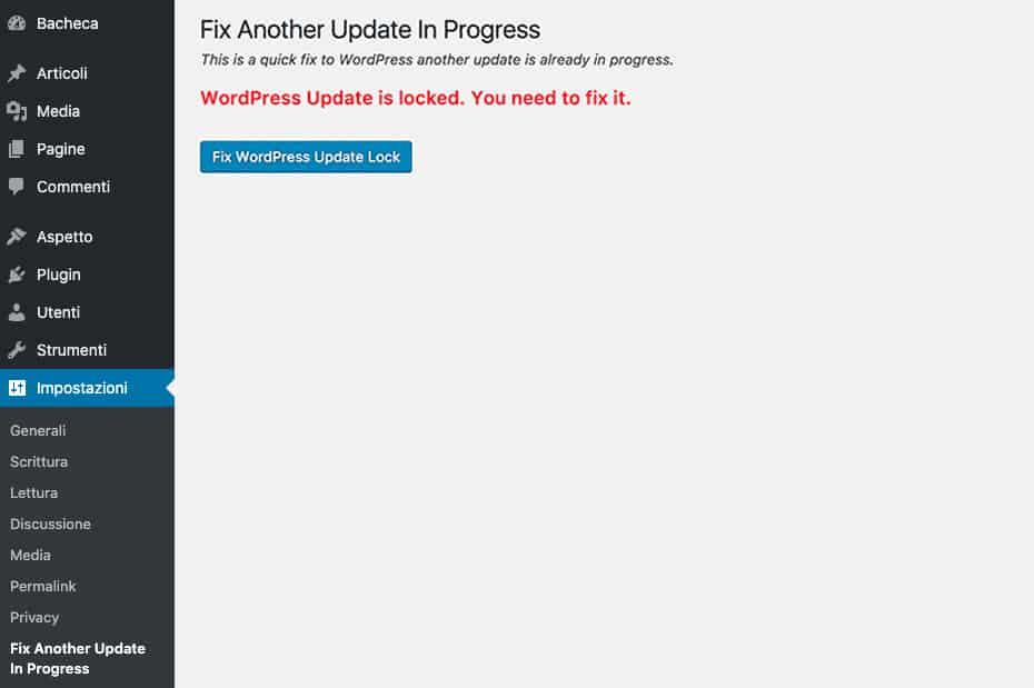 Another Update In Progress. WordPress Plugin