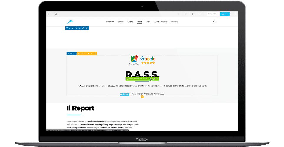 BRiDWEB   Siti Web Professionali   Sviluppo