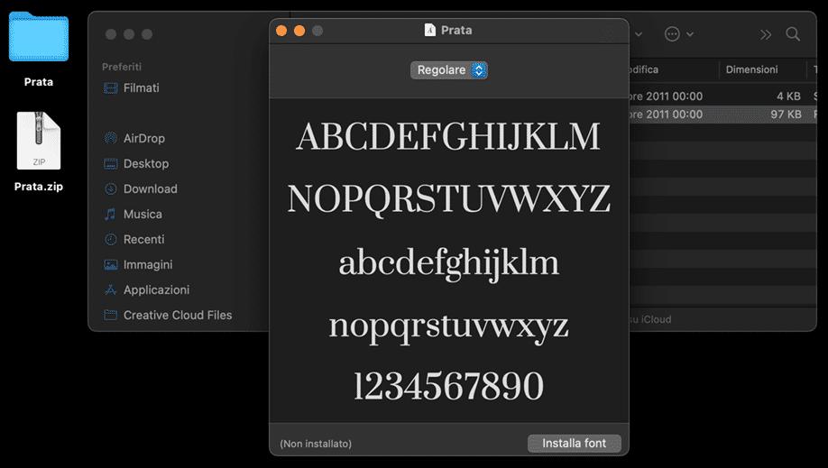 Google fonts | Installazione font su MAC