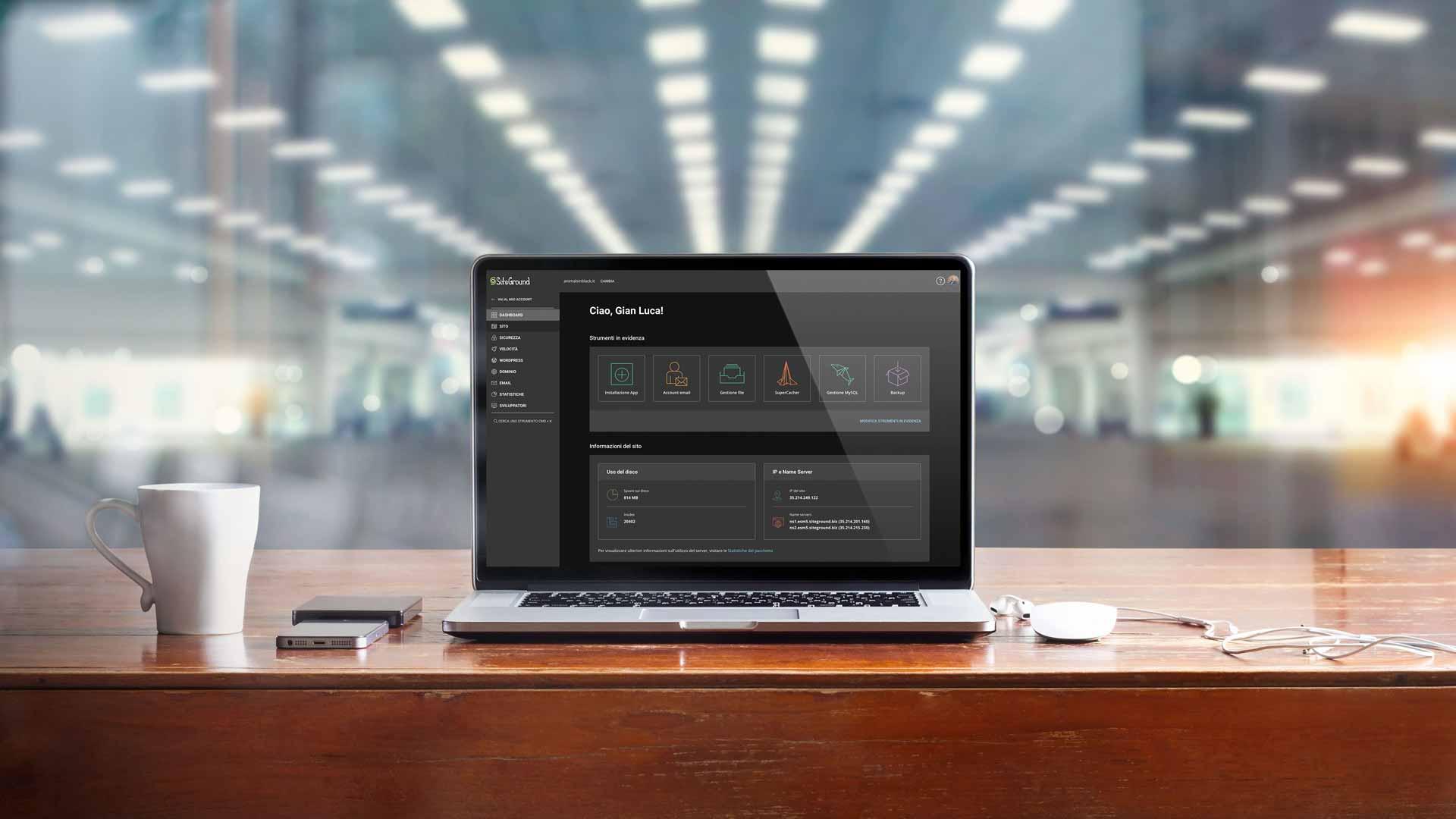 Site Tools di SiteGround. Importante novità per Webmaster.