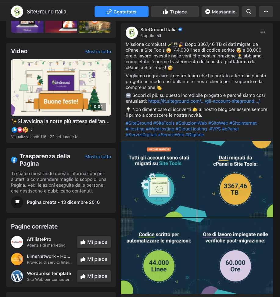 SiteGround | Novità - Presentazione Site Tools